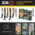 ラン唯科(LANWK)ファーウェイp 30携帯ケースp 30 proガラスス保護カバー国潮ファッション原創意彩絵全パッケージソフトシリコンカバーファーウェイp 30 proピシュピストナー財【鋼化ガラス殻】