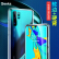 ボンクス(Benks)ファーウェイP 30 Pro携帯保護ケースHUAWEI P 300 Proフルバッグ投擲防止カバーのスリムな弧の辺に透明な携帯ケースTPUシリコのソフトエッジガラスケース