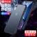 ピカアスアップルxr携帯ケースiPhonexr後、シェルの防塵研磨砂の超薄シリコのソフトサイドフルバック指紋防止ファッション保護カバーの羽音男女モデルJK 769-エリートブラック