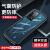 ファーウェイp 40 pro携帯ケースp 40/p 40 pro+保護カバーエアバッグ防塵カバー透明男女兼用ソフトケースファーウェイP 40 Pro【明るい黒-レンズフィルム-高透版】