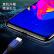 ピカアスファーウェイ栄光V 20携帯ケース/保護カバー全カバー割れ防止TPUシリコ柔らかで爽やかなシェル個性の男女シンプル携帯ケースJK 570-透明ホワイト