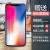 天覚アップルx携帯ケースiPhone X/XS Max/XR/7/8 Plus薄型半透明シェル研磨砂保護カバーアップルX-56.8インチ【透黒-シェル膜セット】